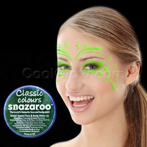 Bright Green Face Paint - 18 ml