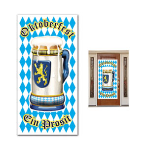 Oktoberfest Door Cover - 5ft