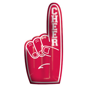 Inflatable Finger - Red
