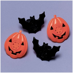 Halloween Lip Whistle- 8ct