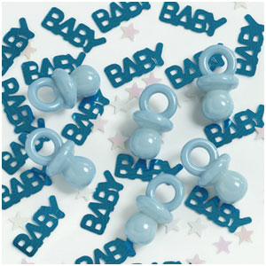 It's A Boy Pacifiers