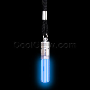 LED Pendant Necklace - Blue