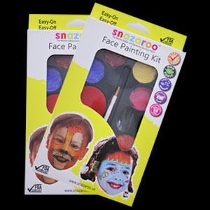 Rainbow Face Paint Palette