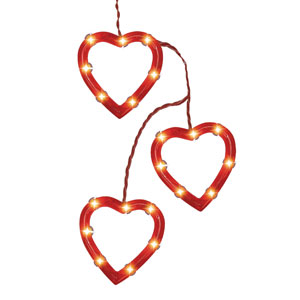 Heart Lights Decorating Set