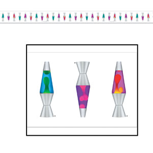 Lava Lamp Party Tape - 3ft