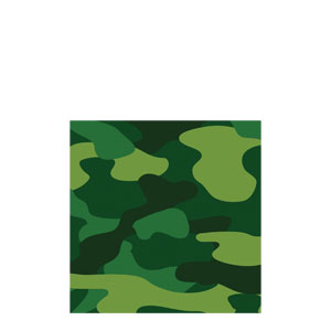 Camo Gear Beverage Napkins
