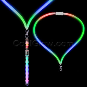 LED Flashing Lanyard - 8 Inch Stick
