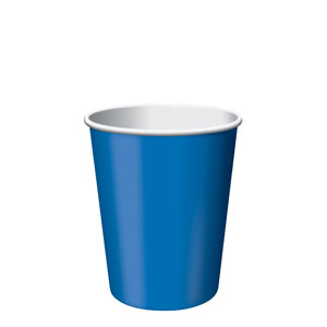 True Blue 9 oz. Cups