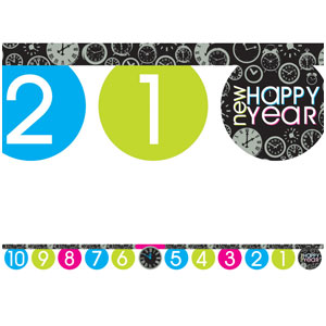 New Year Countdown Banner - 8ft