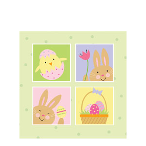 Bunny Luncheon Napkins