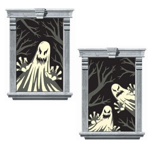 Ghost Window Silhouettes- 2ct