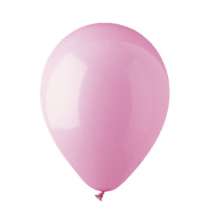 11 Inch Pink Latex Balloons- 100ct