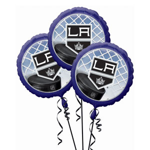 Los Angeles Kings 3 Pack Balloons- 18in