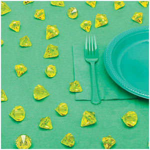 Gold Diamond Table Scatters