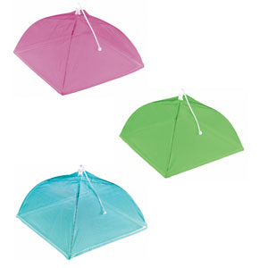 Summer Brights Food Covers- 3ct