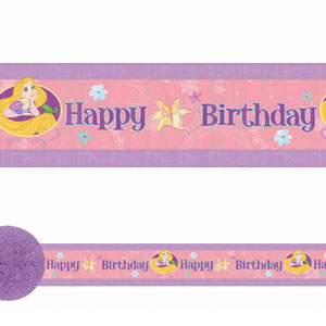 Disney Tangled Crepe Streamer- 30ft