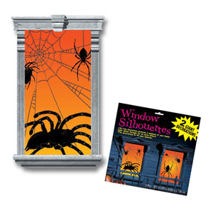 Spider Silhouette Window Magic 2ct