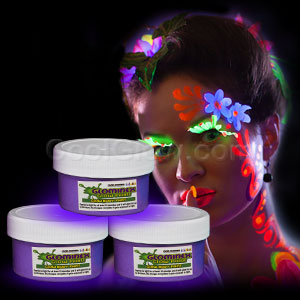 Glominex Glow Body Paint 2oz Jar - Purple