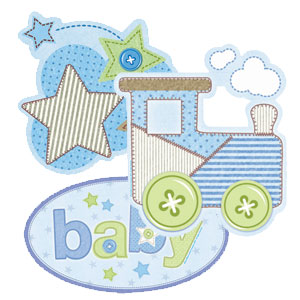 Carter's Baby Boy Cutout - 3ct