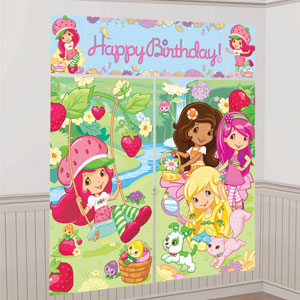 Strawberry Shortcake Scene Setters- 5pc