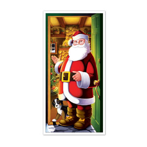 Santa Door Cover - 5ft