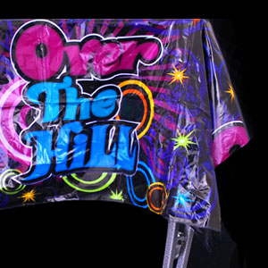 Over the Hill Plastic Tablecover
