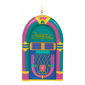 Jukebox Candle- 4in