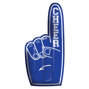 Inflatable Finger - Blue