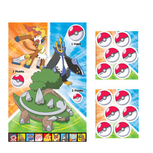 Pokemon Party Game- 3pc