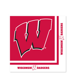 Wisconsin Luncheon Napkins