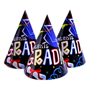 Congrats Grad Party Cone Hat
