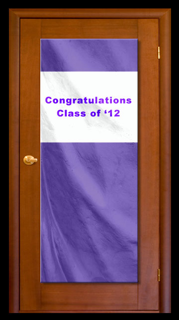 Purple - Custom Door Banner