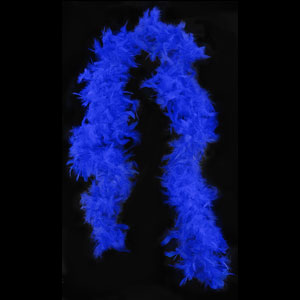 Royal Blue Boa - 6ft