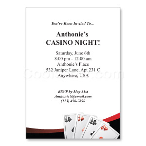 All In - Custom Invitations