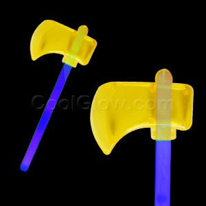 Fun Central M999 Glow in the Dark Axe - Blue
