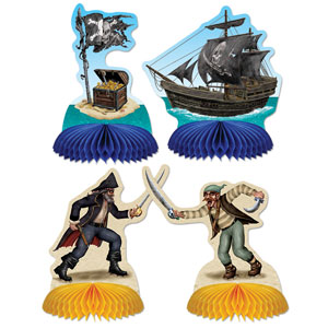 Pirate Playmates - 4ct