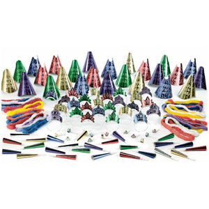 Evening Sparkle New Years Party Kit for 50- 125pc
