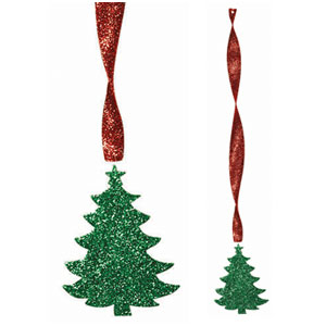 Glitter Christmas Tree Decoration- 24 Inch
