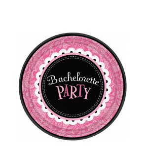 Bachelorette Party 7 Inch Plates- 8ct