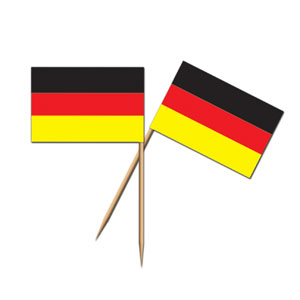 German Flag Picks- 50ct