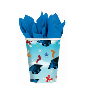 Grad Spirit 9 oz. Cups- 18ct