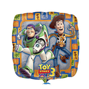 Toy Story 3 Group Balloon- 18 Inch