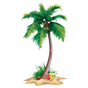 Palm Tree 72 Inch Cutout