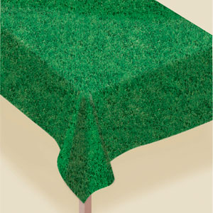 Grass Vinyl Tablecover- 108in