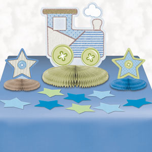 Table Decorating Kit - Baby Boy 15pc