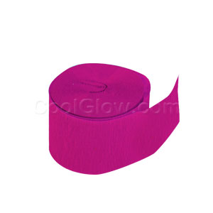 Hot Pink Crepe Paper- 81ft