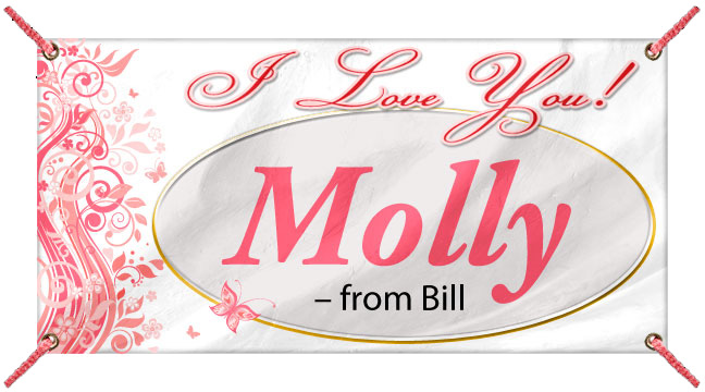 I Love You - Custom Banner