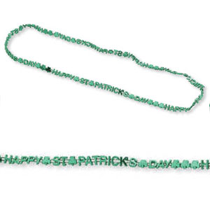 Shamrock Letter Necklace