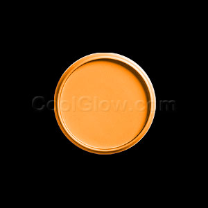 Invisible Blacklight Reactive Makeup 1.3 oz - Orange