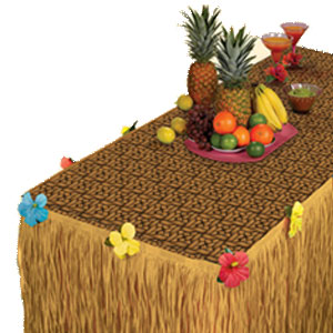 Luau Table Decorating Kit- 2pc